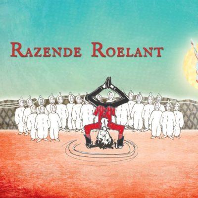 Razende Roelant | ontwerp programmaboekje