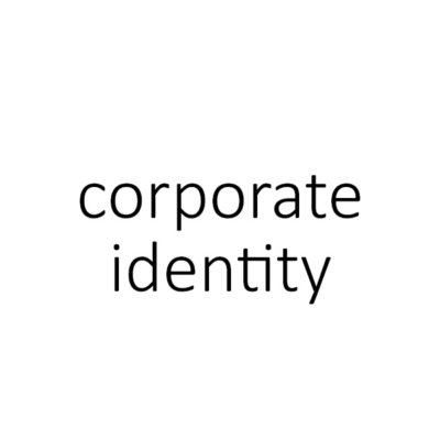 corporate identity | huisstijl